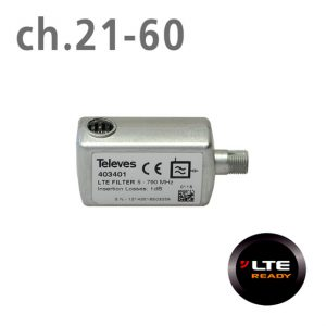 TELEVES-403401-Φίλτρο-LTE-(ch.21-60)-F